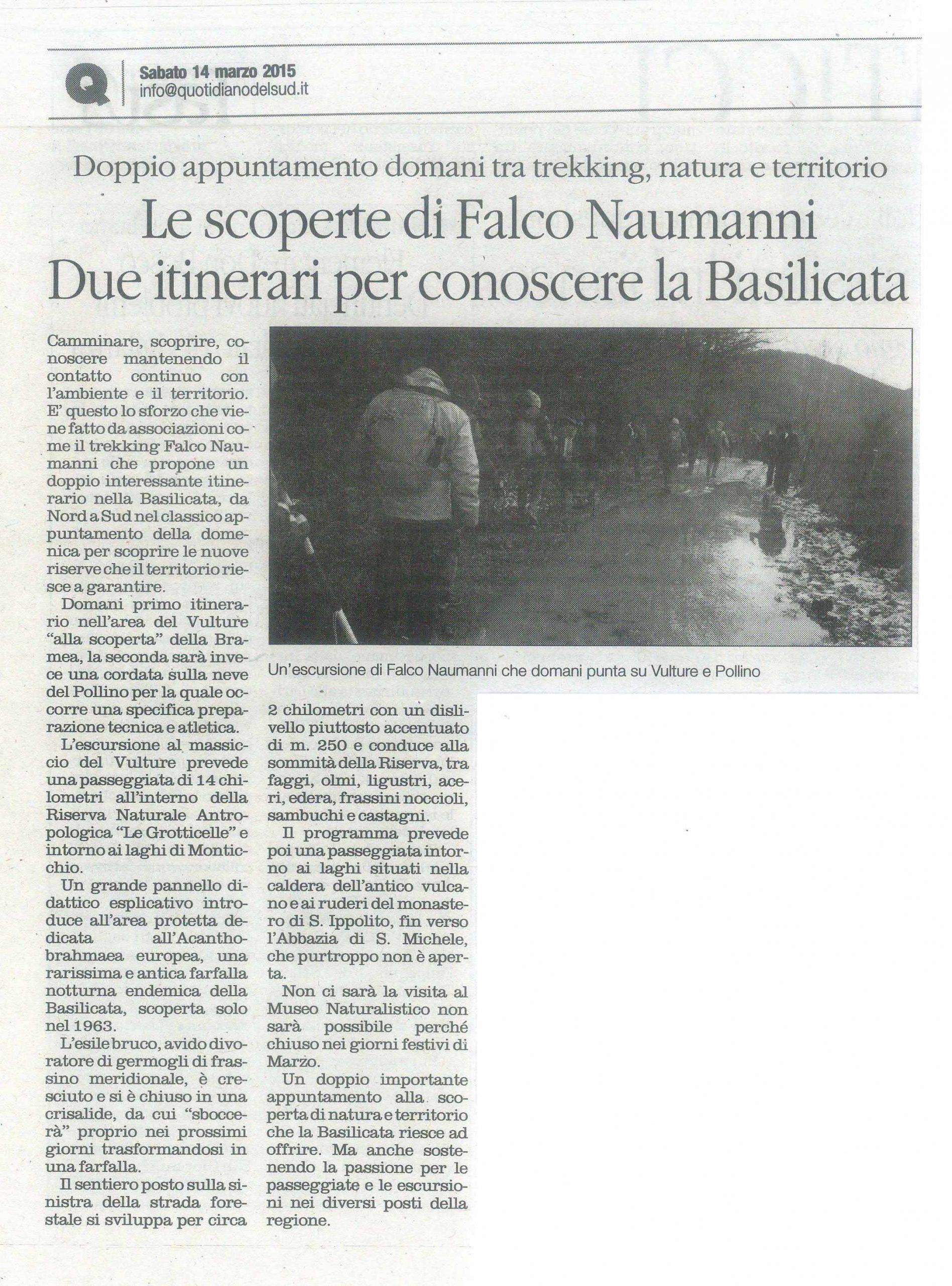 15.03.14 - Quotidiano - Bramea