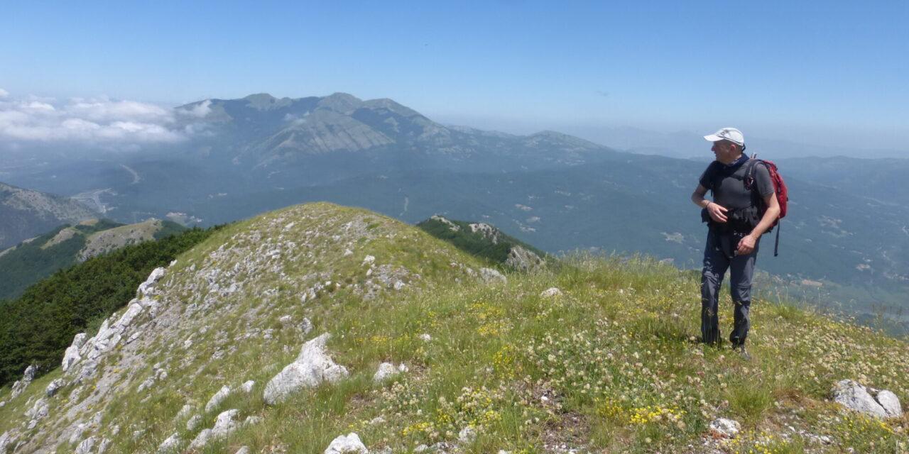 Da Lago della Rotonda alla Cima del Monte La Spina