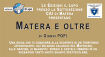 """Presentazione del libro """"Matera e oltre"""" di Gianni Pofi"""