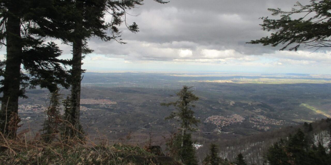 Parco Naturale Regionale del  Vulture: Da Rionero al Rifugio Monte Vulture