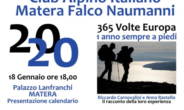 Presentazione calendario escursioni 2020