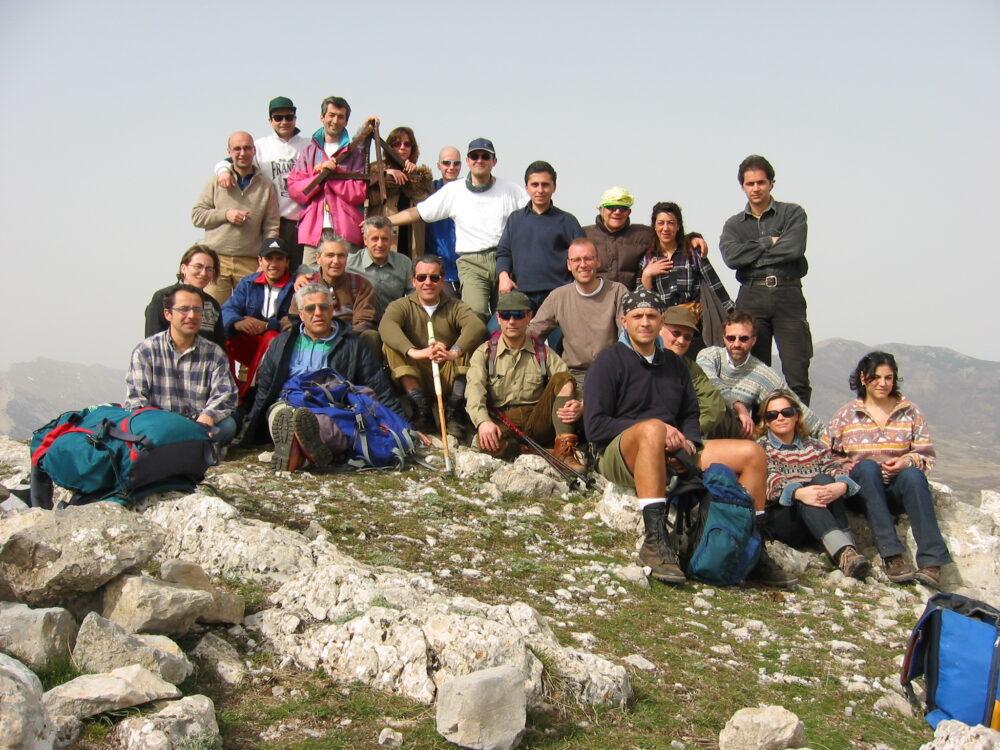 Foto di gruppo Monte Sellaro